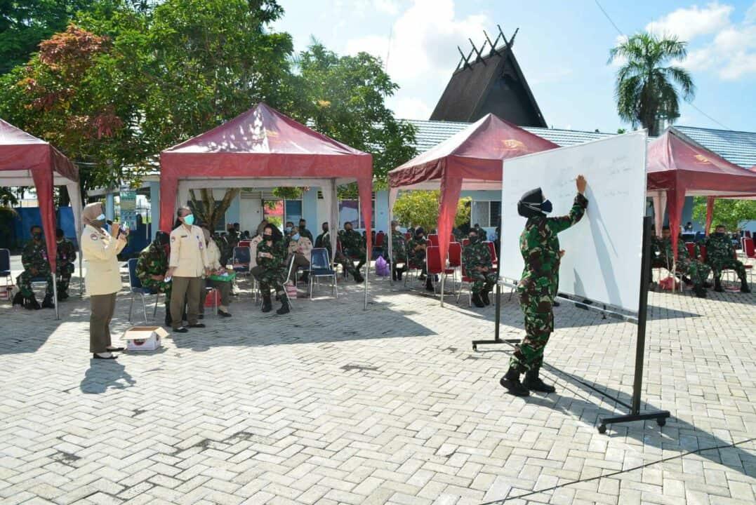Koperasi Konsumen TNI AU Lanud Sjamsudin Noor Gelar Rapat Anggota Tahunan Tahun Buku 2020