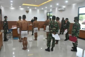 Danlanud Mus Pimpin Pantukhir Daerah, Tamtama PK Gel II Tahun 2021.