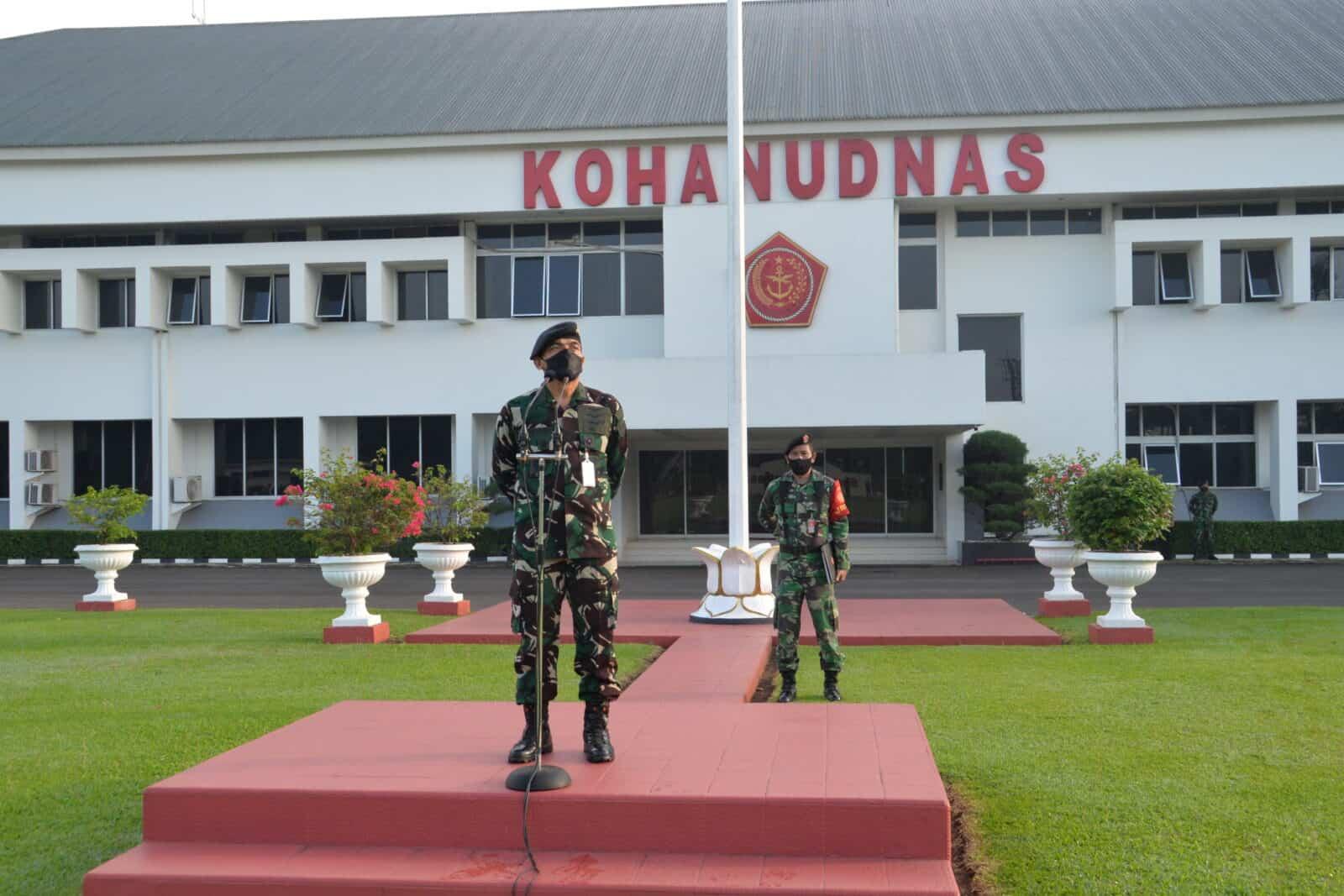 Kepala Staf Kohanudnas Pimpin Apel Khusus