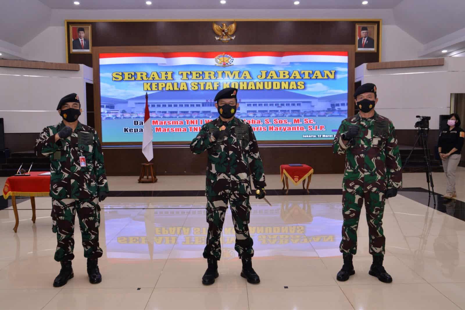 Pangkohanudnas Pimpin Serah Terima Jabatan Kepala Staf Kohanudnas