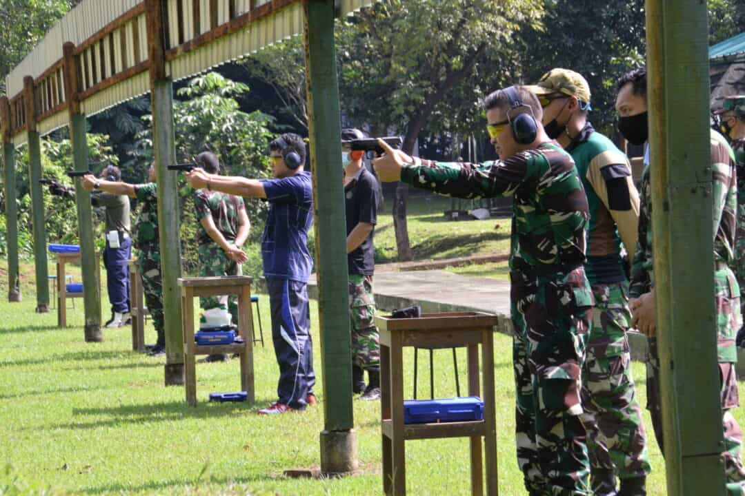 Kohanudnas Latihan Menembak Persiapan Piala Kasau