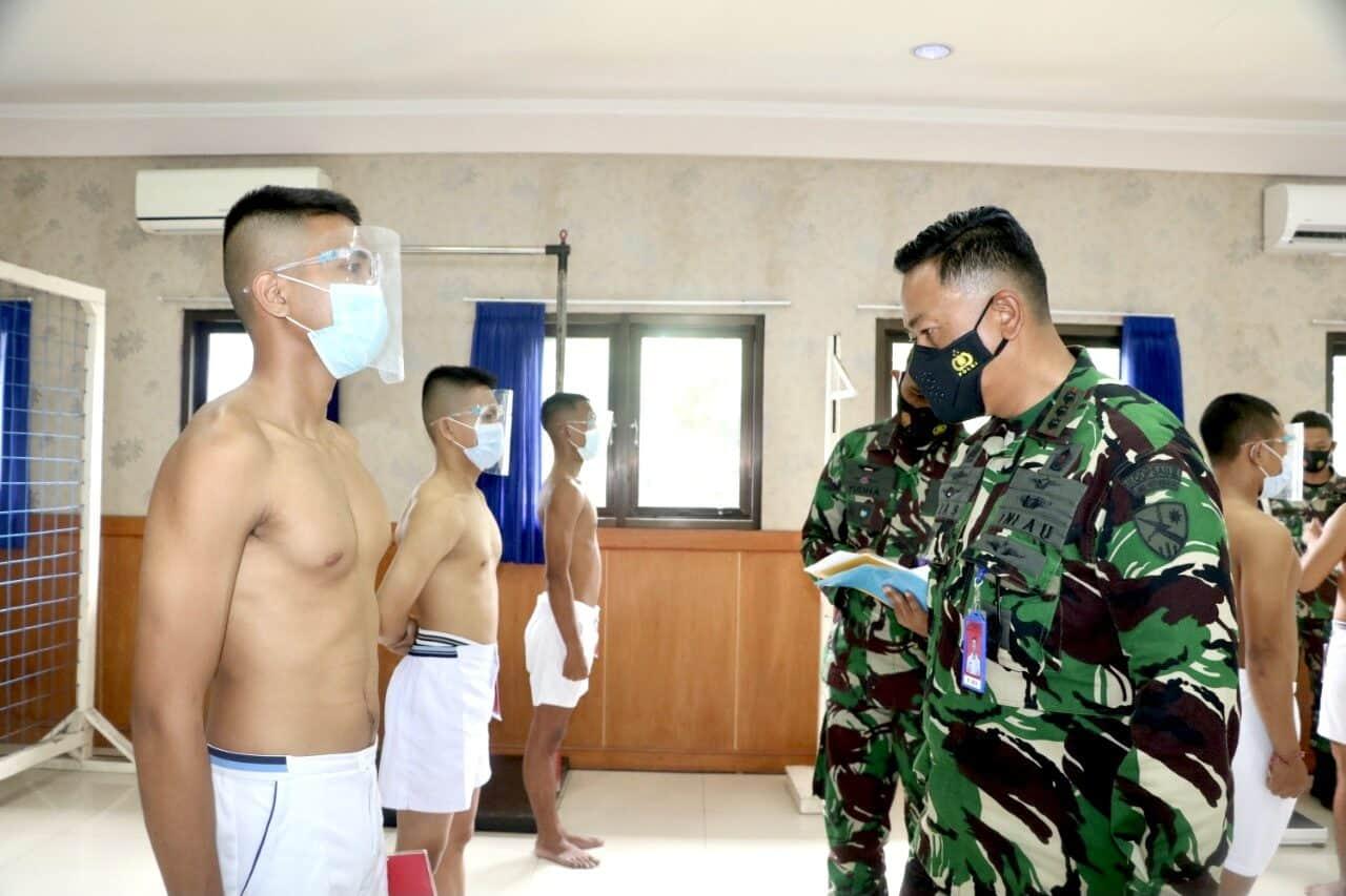Sidang Pantukhir Daerah Calon Siswa Tamtama PK Gelombang II Panda Lanud I Gusti Ngurah Rai