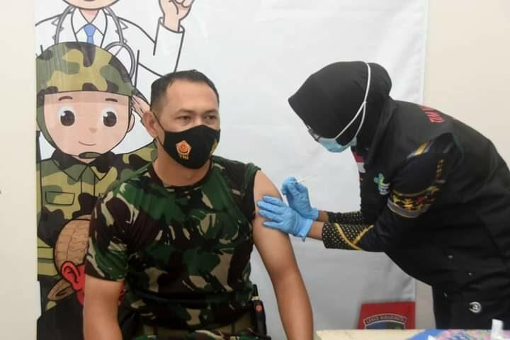 Personel Lanud Wiriadinata Dan Wing Pendidikan Pembekalan Jalani Vaksinasi Covid 19