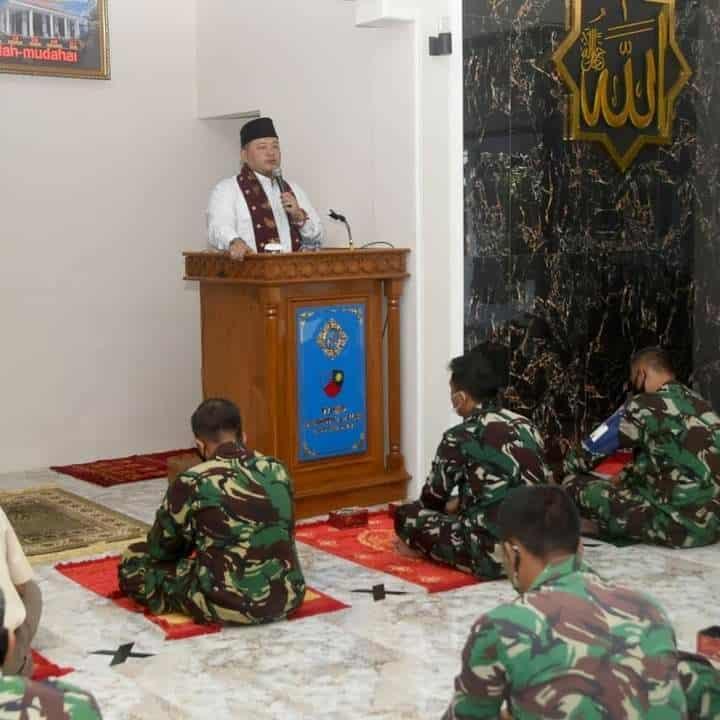 Lanud Wiriadinata Peringati Isra Miraj Nabi Muhammad SAW 1422 H