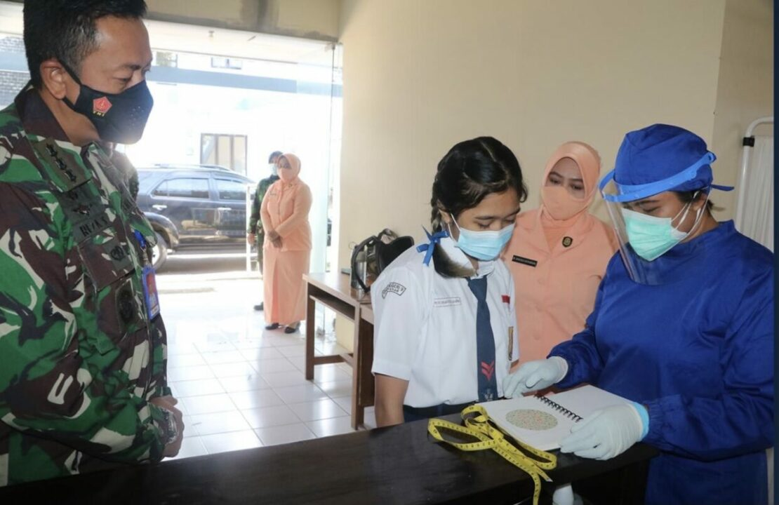 Lolos Seleksi Administrasi, Calon Siswa SMA Pradita Dirgantara Daerah Lanud I Gusti Ngurah Rai Laksanakan Serangkaian Tes