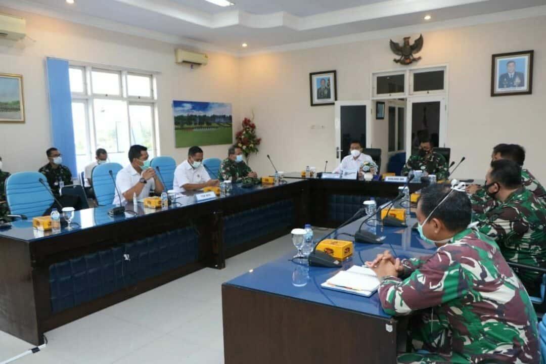Entry Briefing Wasrik BPK RI Di Lanud Adi Soemarmo