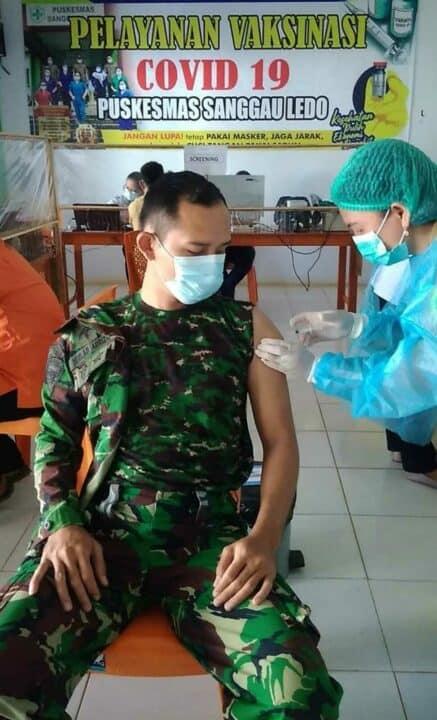 Pejabat Lanud Had Diberikan Vaksin Tahap II