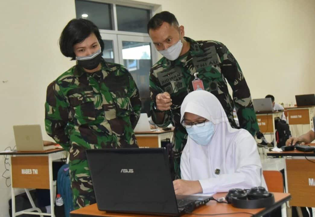 Tes Akademik Casis SMA Pradita Dirgantara Lanud Husein S.