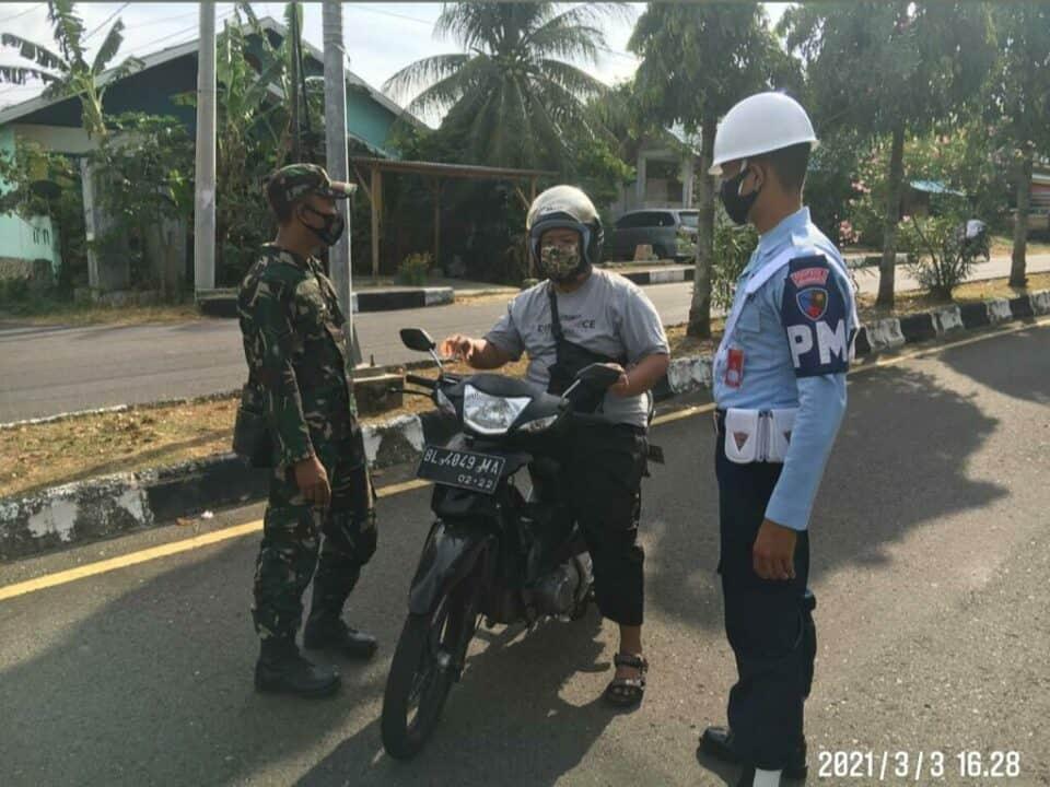 Perintah KOTAS, Prajurit Pulau Weh Terus Sadarkan Untuk Patuhi Protkes