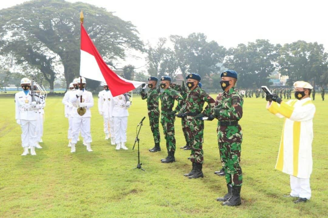 Dankodiklatau Lantik 449 Tamtama Baru TNI AU