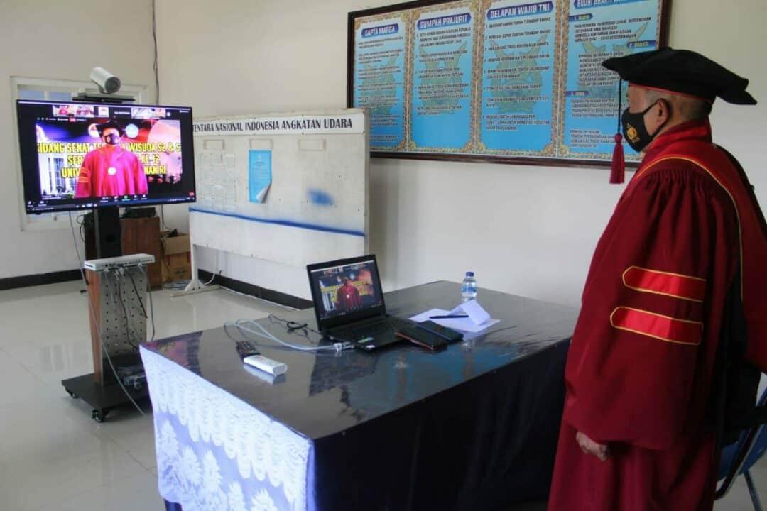 Komandan Lanud Leo Wattimena Morotai Mengadakan Syukuran