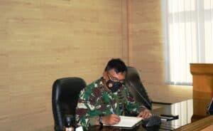 Entry Briefing Panglima Komando Pertahanan Udara Nasional