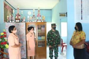 Kunjungan Pertama Danlanud Ptm ke Sekolah-sekolah Angkasa Lanud Ptm.
