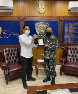 Pangkoopsau I Terima Kunjungan Direktur PT Angkasa Pura II