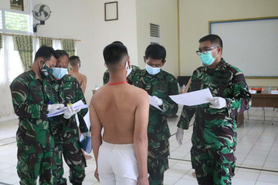 Danlanud Had Pimpin Sidang Pantukhir Calon Tamtama PK TNI AU 2021