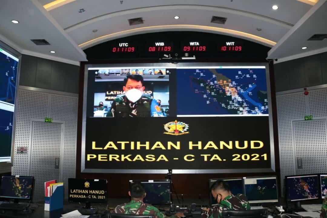 Kohanudnas Gelar Latihan Hanud Perkasa C-21 TA. 2021
