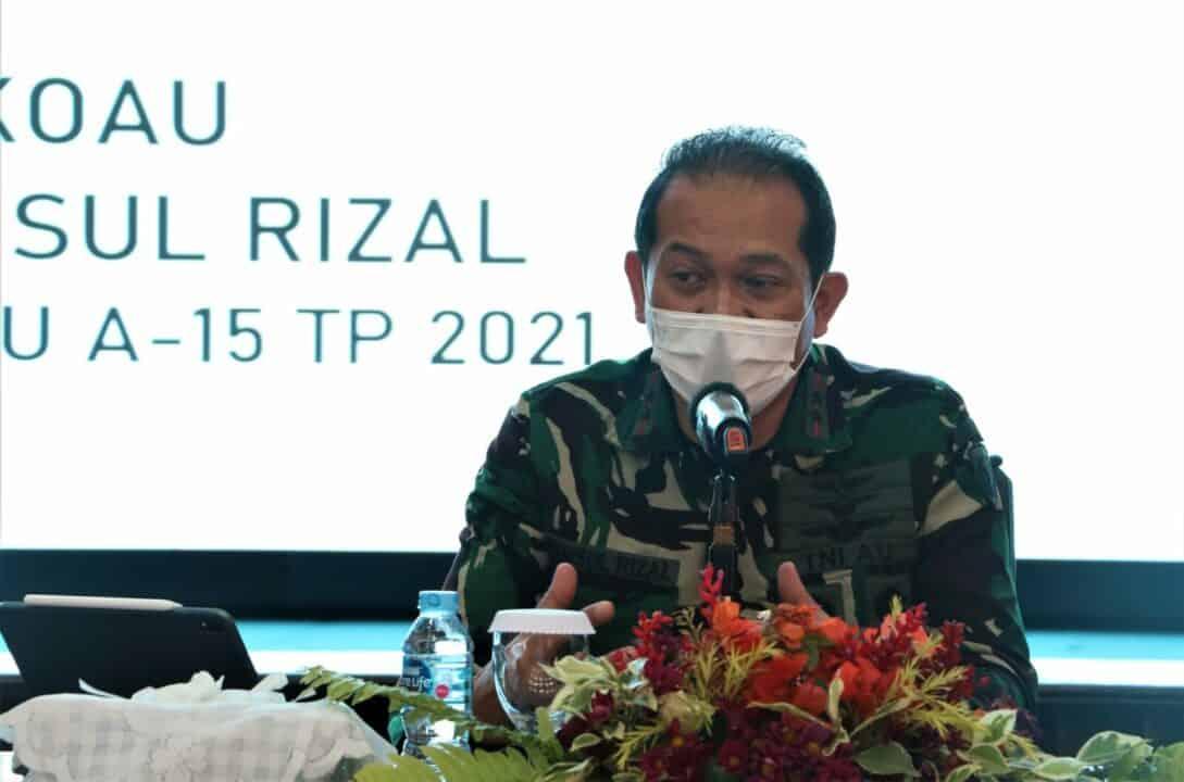 Danseskoau : Kepemimpinan Militer Penting Bagi Keberhasilan Tugas