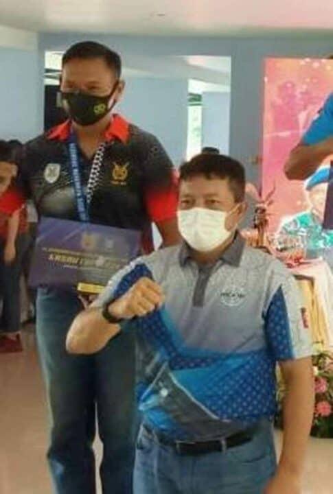 Kepala Dinas Personel Pusdiklat Paskhas Menjuarai Lomba Tembak Senapan Kasau Cup 2021