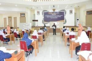 Casis SMA Pradita Dirgantara Panda Lanud Iswahjudi Jalani Tes Psikologi