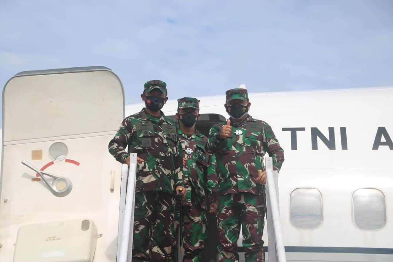 Pangkoopsau I Tinjau Operasi Interoperability TNI AU dan TNI AL Di Natuna
