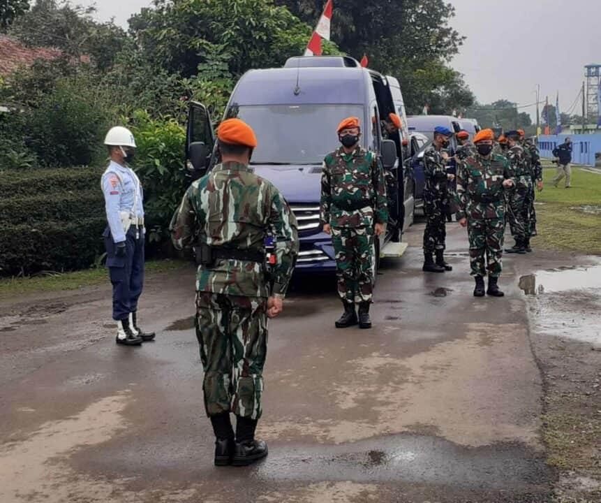 Kunjungan Kepala Staf Angkatan Udara Beserta Rombongan Ke Pusdiklat Paskhas