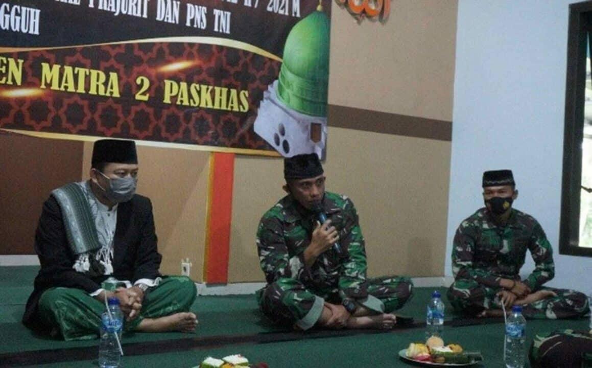 Peringatan Isra Mi'Raj Nabi Muhammad SAW Tahun 1442 H/2021 M, Momentum Untuk meningkatkan keimanan Prajurit