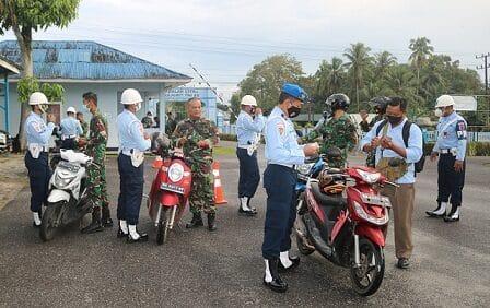 Jelang HUT TNI AU Ke-75, Satpomau Lanud ASH Gelar Operasi Gaktib