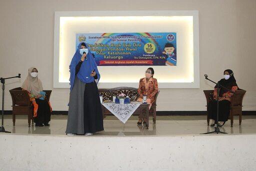Gelar Seminar Parenting, Yasarini Lanud H AS Hanandjoeddin Ingatkan Pendidikan Anak Usia Dini