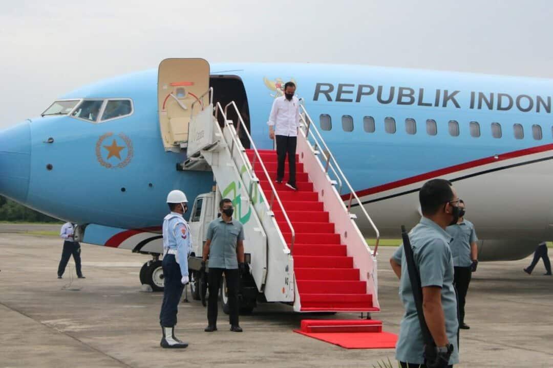 Danlanud Adisutjipto sambut kedatangan Presiden RI ke Yogyakarta
