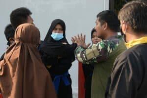Lanud RHF Berikan HIMSSI Pengetahuan Kedirgantaraan, Kemiliteran dan Bela Diri Militer