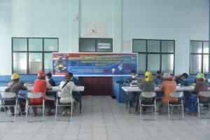Lanud RSA Gelar Serbuan Teritorial Rapid Test Massal Gratis di Pelabuhan Penagi