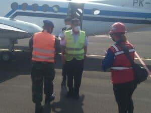 Penerbangan Kalibrasi di Lanud J.B. Soedirman
