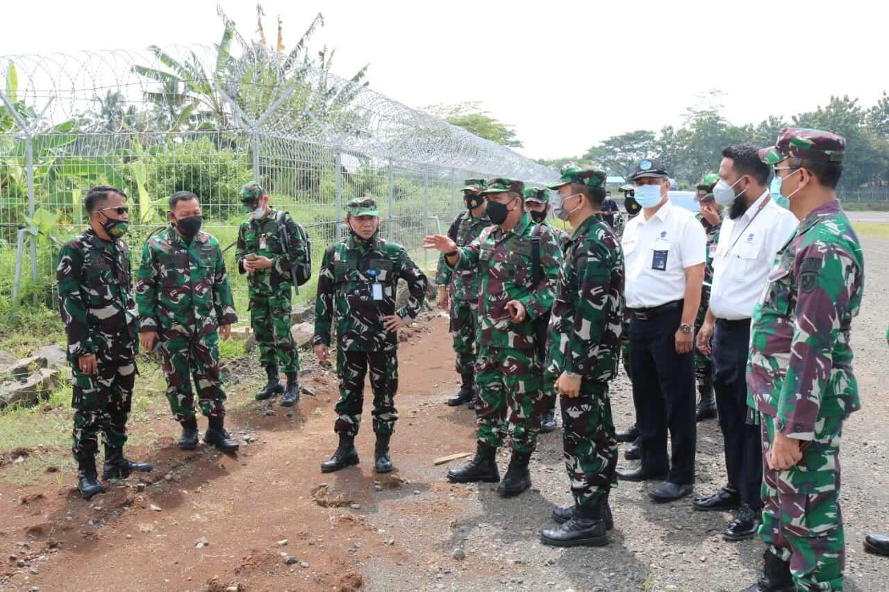 Kuker tim aset Mabesau dan Koopsau I serta Airnav Semarang ke Lanud J.B. Soedirman