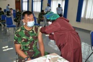 Hari Ini Personel Lanud Suryadarma Mulai di Vaksin Covid-19