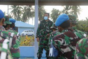 Bintara dan Tamtama Lanud RSA Laksanakan Latihan Menembak