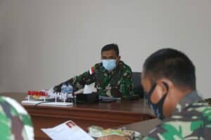 Danlanud RSA Natuna Pimpin Sidang Pantukhirda Casis Tamtama Gel. II TA. 2021