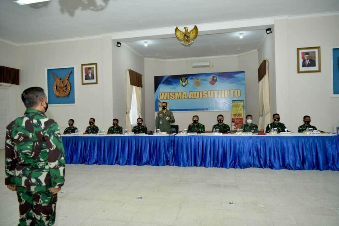 Lanud Adisutjipto Gelar Sidang Pantukhirda Casis Tamtama TNI AU