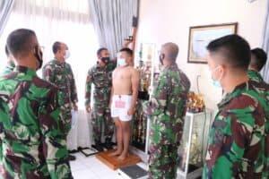 Danlanud Sutan Sjahrir Pimpin Pantukhir 36 Orang Casis Tamtama PK TNI AU Gel II Tahun 2021 di Lanud Sutan Sjahrir