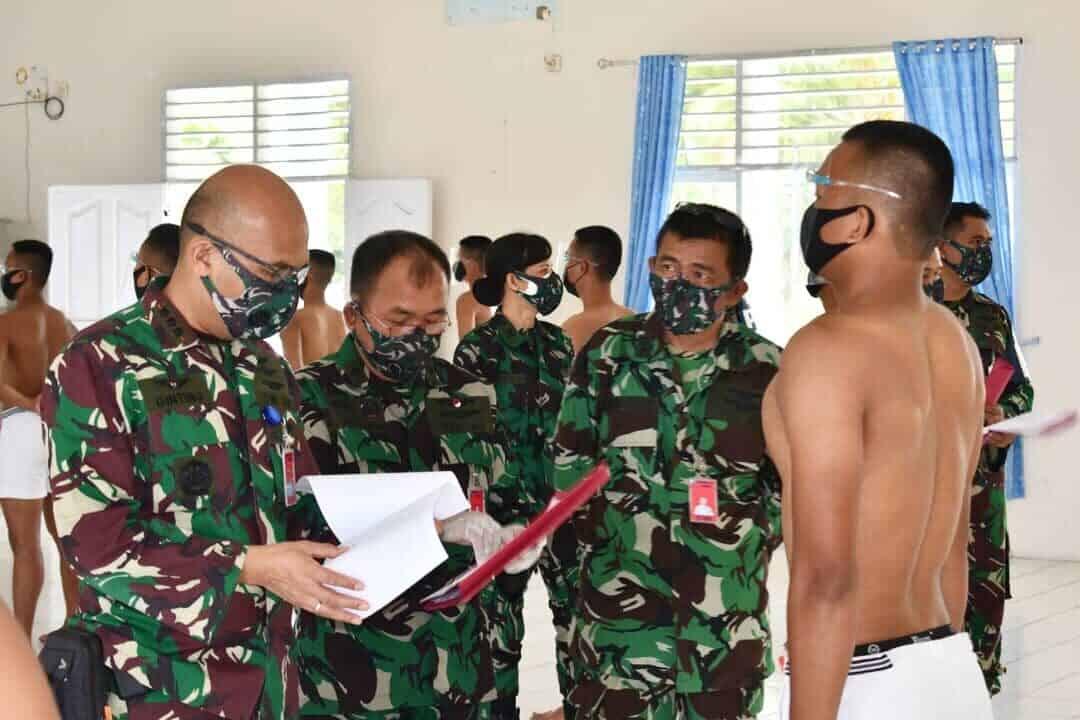 Lanud Soewondo Gelar Pantukhir Tamtama PK Gelombang I Tahun 2021