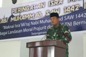 Peringatan Isra' Mi'raj 1442H/2021M di Lanud RHF