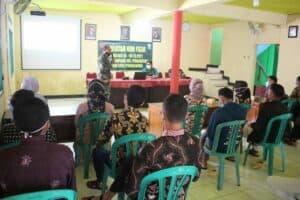 Aspotdirga Kasau Tinjau Lokasi TMMD Reguler Ke-110 TA.2021 Di Desa Tumanggal Kabupaten Purbalingga