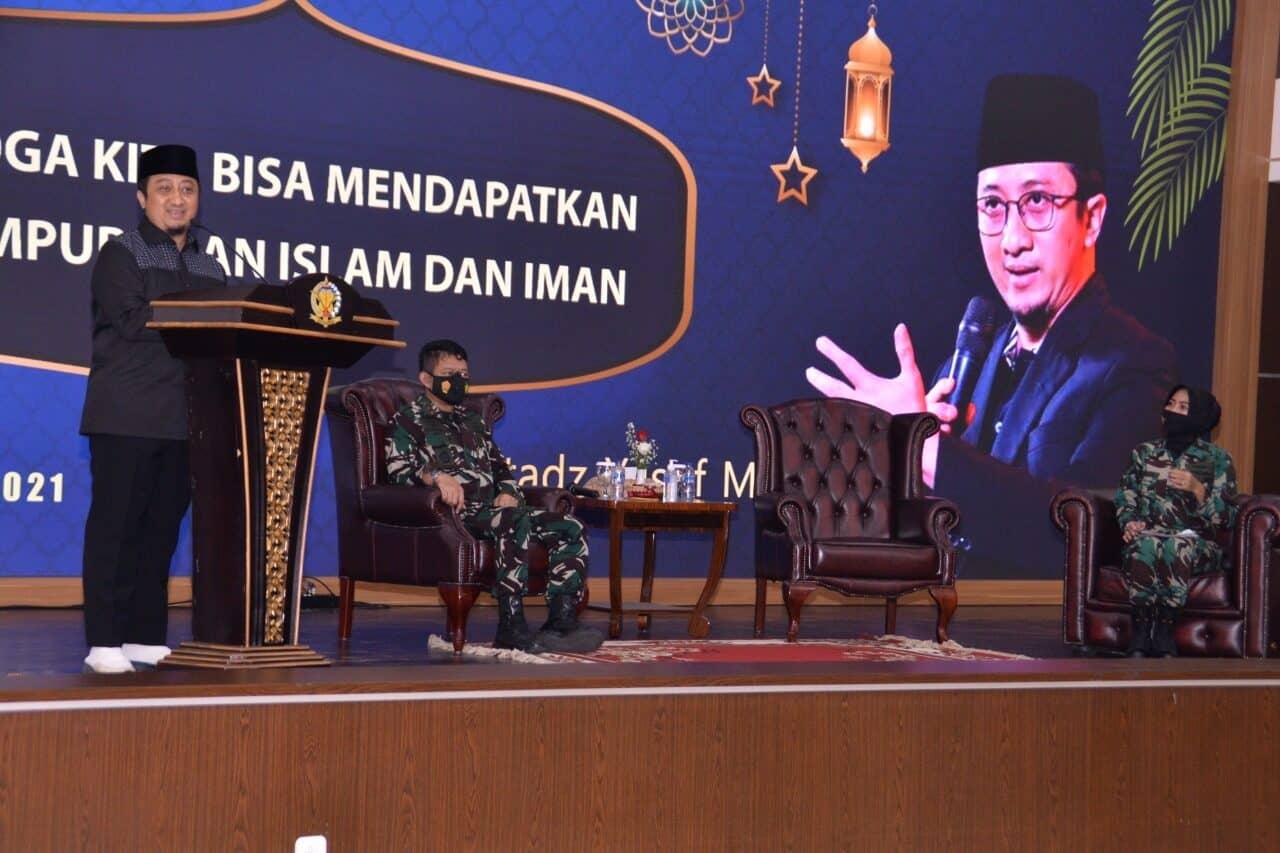 Kohanudnas Menyelenggarakan Peringatan Isra Mi'raj 1442 H/2021 M Secara Daring dan Luring