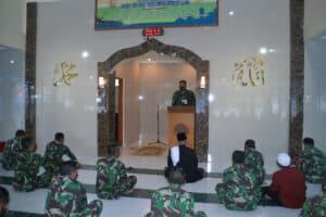 Peringatan Isra' Mi'raj di Pusdiklat Hanudnas