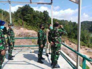 Waaspotdirga Kasau Marsma TNI Tyas Nur Adi Tinjau Lokasi Venue Paralayang di Batam