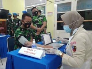 Vaksinasi Tahap Dua Di Lanud Sri Mulyono Herlambang