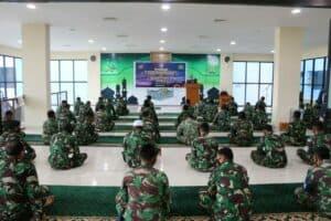 Keluarga Besar Koopsau III melaksanakan peringatan Isra' Mi'raj Nabi Muhammad SAW 1442 H/2021 M