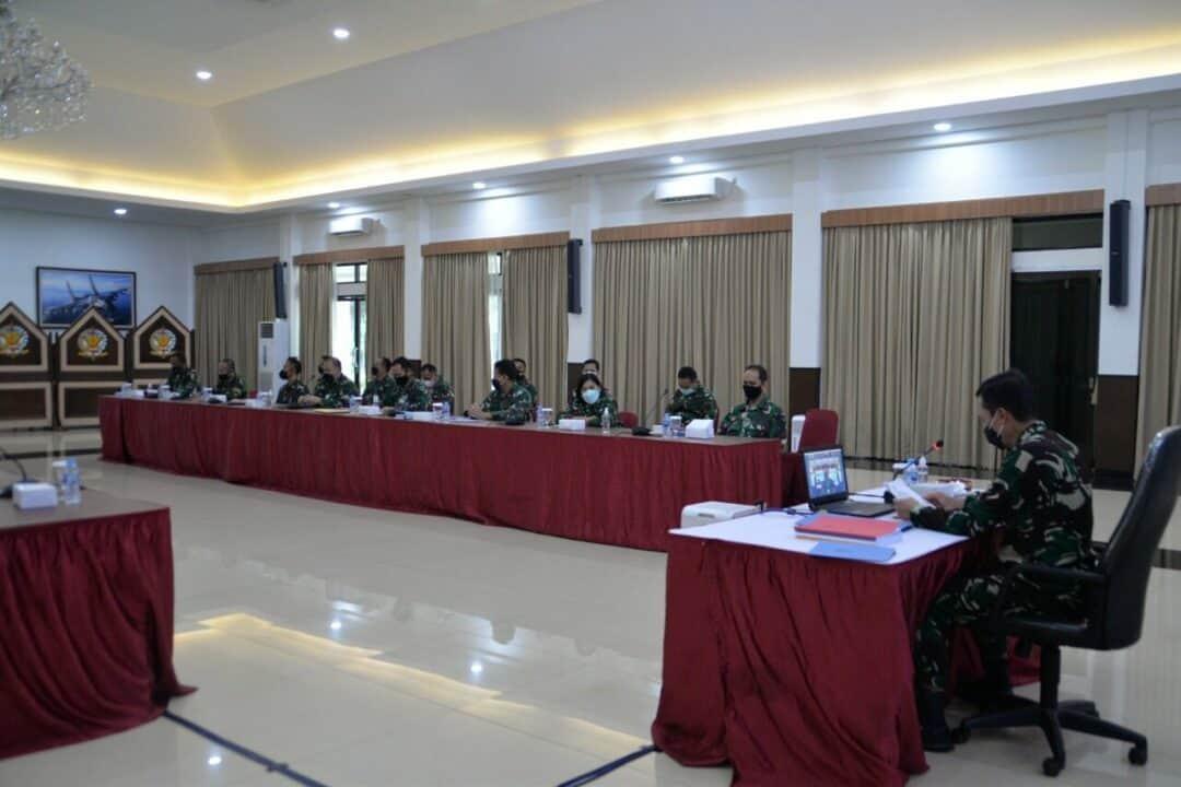 Kohanudnas Laksanakan Tarwasdalnil dan Briefing Pelaku Latihan Hanudnas Perkasa C-21 TA. 2021