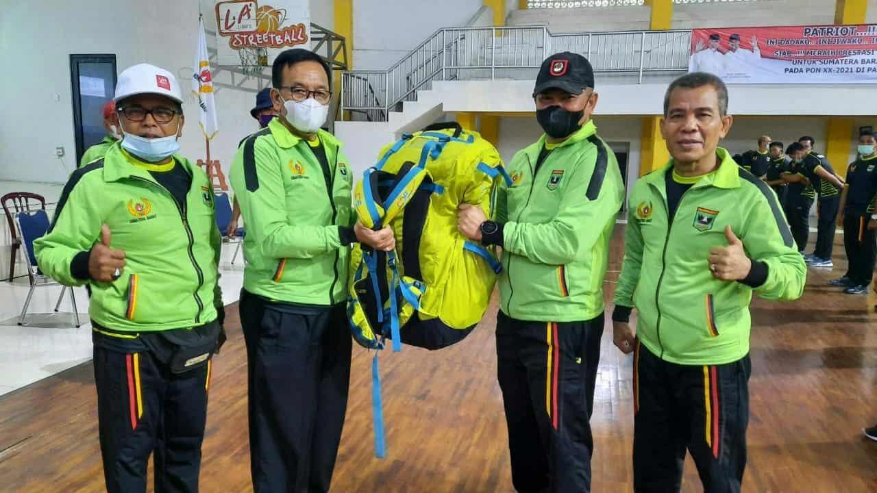 Danlanud Sutan Sjahrir Hadiri Cara Pembukaan Pemusatan Latihan Provinsi Sumatera Barat