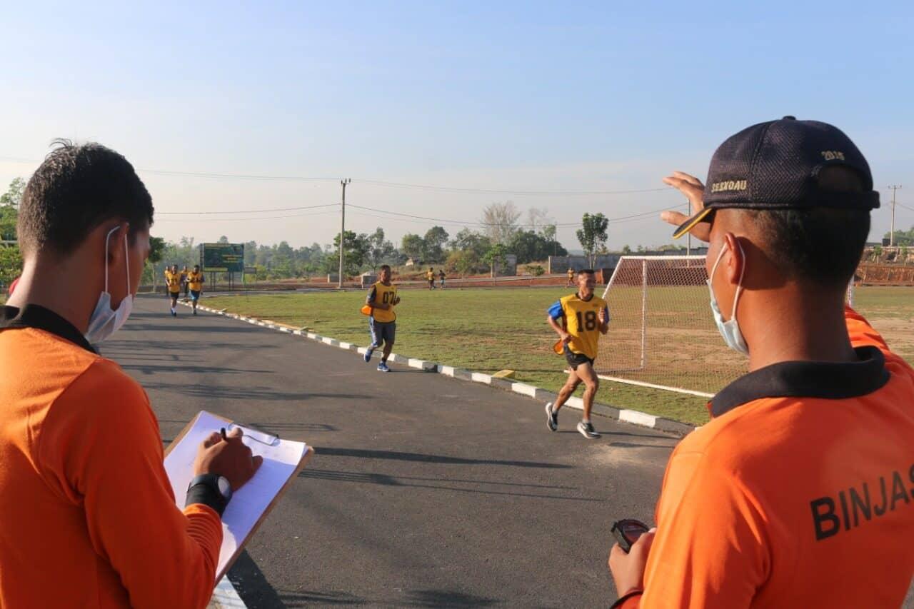Lanud RHF Laksanakan Garjas Semester I Tahun 2021