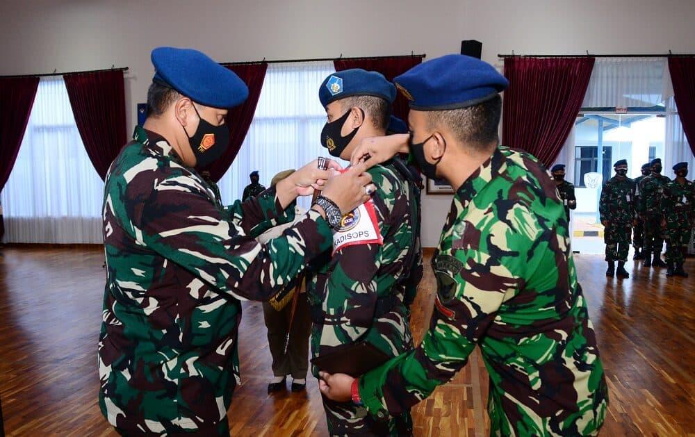 Pasis Suspajemen A-31 Laksanakan Latihan Olah Staf